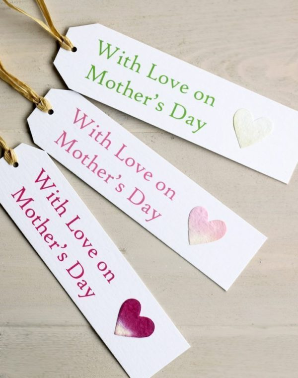 Mothers Day gift tag