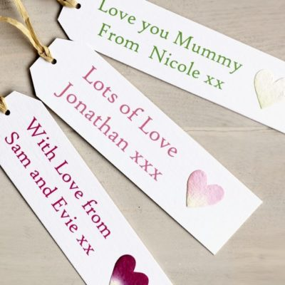 Personalised Mothers Day Gift Tag