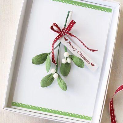 Boxed Handmade Christmas Card