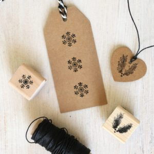 Snowflake Stamp and Fir Stamp